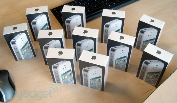 iPhone fehér