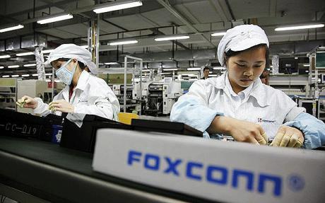 Foxconn gyártósor