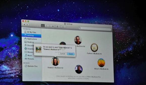 Mac OS X Lion WWDC 2011