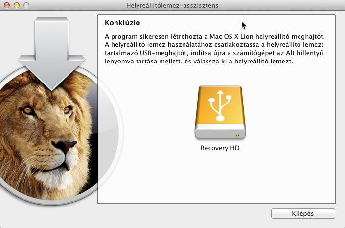 Lion Recovery Stick