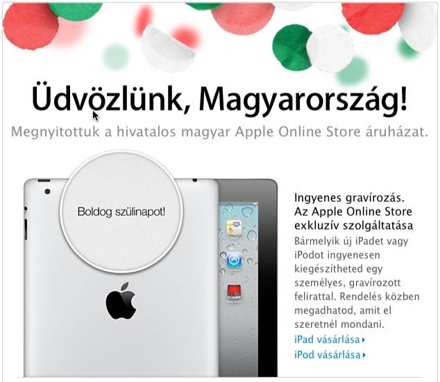 Apple Store Magyarországon