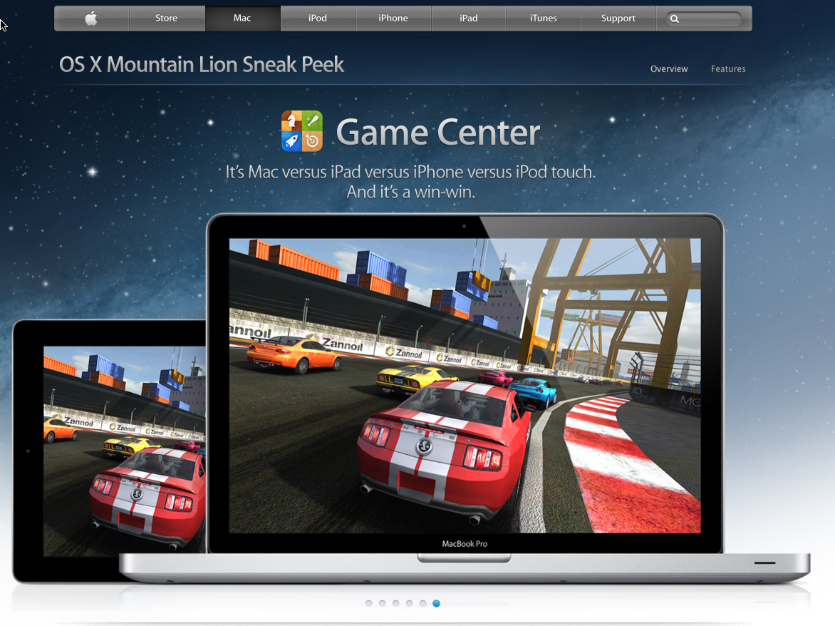 Mountain Lion - Game Center