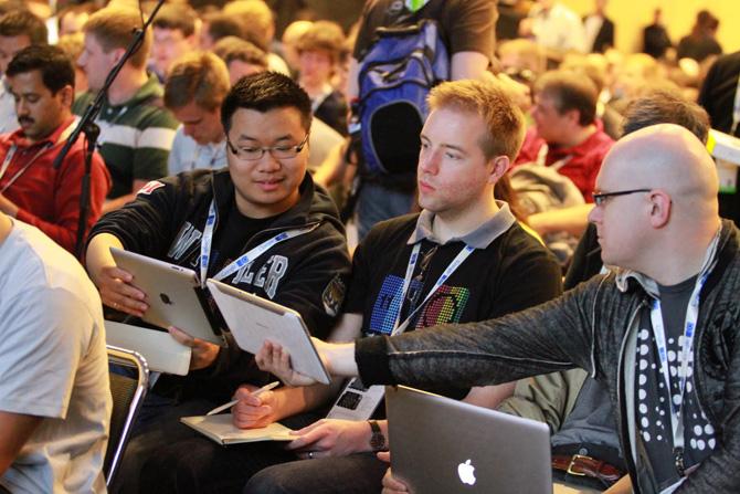 Google I/O közönség
