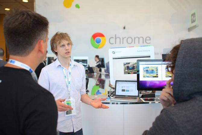 Google I/O stand