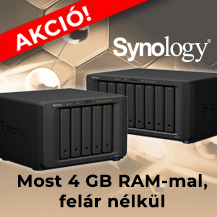 Synology DS1517+ és DS1817+ most +2 GB RAM-mal