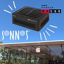 Már az Apple is árul Sonnet eGPU-t!