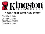 Kingston RAM1866DDR3L-4GB×1