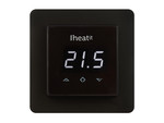 Heatit Wall Thermostat (black)