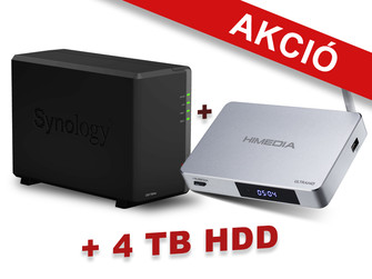 Synology DS218play + Q5 Pro + 4 TB