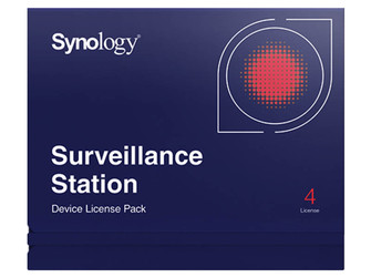 Synology Device license pack - 4